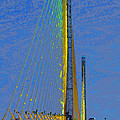 Skyway crossing Print by David Lee Thompson