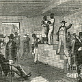 Slave Auction, 1861 Poster by Photo Researchers