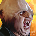 Sloth from Goonies Print by Brett Hardin