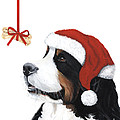 Smile its Christmas Print by Liane Weyers