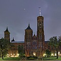 Smithsonian Castle Print by Metro DC Photography