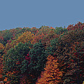 Smoky Mountains in Autumn Poster by DigiArt Diaries by Vicky B Fuller