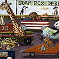 Soap Box Derby Poster by Leah Saulnier The Painting Maniac