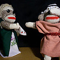 Sock Monkey Othello by David Jones