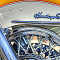 Softail Poster by Scott Norris