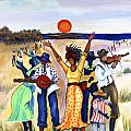 Songs of Zion Poster by Diane Britton Dunham