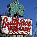 South Seas Sign Poster by Garry Gay
