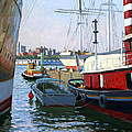South Street Sea Port Poster by Roelof Rossouw