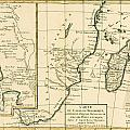 Southern Africa Print by Guillaume Raynal