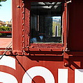Southern Pacific Caboose - 5D19235 Print by Wingsdomain Art and Photography