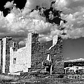 Spanish Mission ruins of Quarai NM Poster by Christine Till