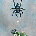 SPIDER FLY and TOAD Poster by Fabrizio Cassetta