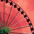 Spinning Wheel  Poster by KAREN WILES