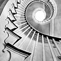 Spiral Staircase Lowndes Grove  Print by Dustin K Ryan