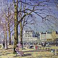 Spring in Hyde Park Poster by Alice Taite Fanner