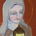 St. Clare of Assisi II Poster by Susan  Clark