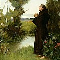 St. Francis Poster by Albert Chevallier Tayler