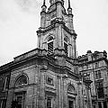 st georges-tron church nelson mandela place glasgow scotland uk Print by Joe Fox