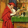 St. Jerome in his Study  Poster by Jan van Eyck