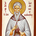 St John Climacus Poster by Julia Bridget Hayes