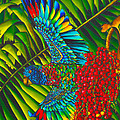 St. Lucia's Bird of Paradise Poster by Daniel Jean-Baptiste