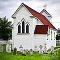 St. Luke's Church and cemetery in Placentia Poster by Elena Elisseeva