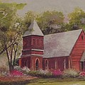 St. Mary's Chapel Print by Charles Roy Smith