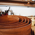 Stack of Wooden Bowls Poster by Jetta Productions, Inc