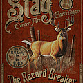 Stag Cartridges Sign Poster by JQ Licensing