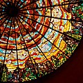 Stained Glass Ceiling Print by Jerry McElroy