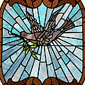Stained Glass LC 14 Poster by Thomas Woolworth