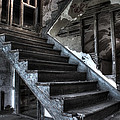 Stairway to Ruin Print by Andrew Pacheco