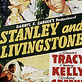 Stanley And Livingstone, Spencer Tracy Poster by Everett