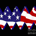 Stars and Stripes Print by Cheryl Young