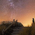 Stars In A Night Sky Print by Laurent Laveder