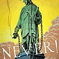 Statue Of Liberty In Chains Poster by War Is Hell Store