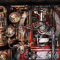 Steampunk - Check the gauges  Print by Mike Savad