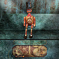 Steampunk - My favorite toy Print by Mike Savad