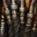 Steampunk - Pipes Print by Mike Savad