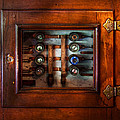 Steampunk - Electrical - The fuse panel Print by Mike Savad