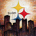 steelers. Print by Mark M  Mellon