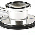 Stethoscopes Diaphragm Poster by Photo Researchers, Inc.