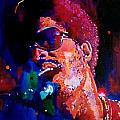 Stevie Wonder Poster by David Lloyd Glover