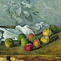 Still Life Poster by Paul Cezanne