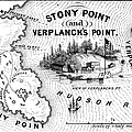 STONY POINT MAP, 1779 Poster by Granger