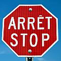 Stop sign. Poster by Fernando Barozza