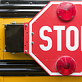 Stop Sign on School Bus Poster by Andersen Ross