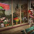 Store - Belvidere NJ - Fragrant Designs Print by Mike Savad
