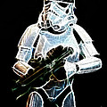 Storm Trooper Poster by Paul Ward