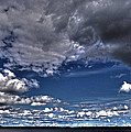 Stormy Clouds ... Print by Juergen Weiss